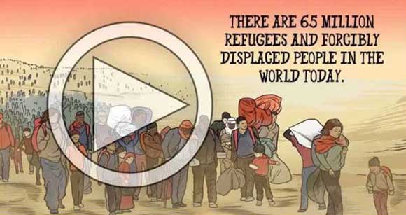 watch The Migrant animated video
