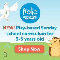 Frolic play-based Sunday school for 3-5yo
